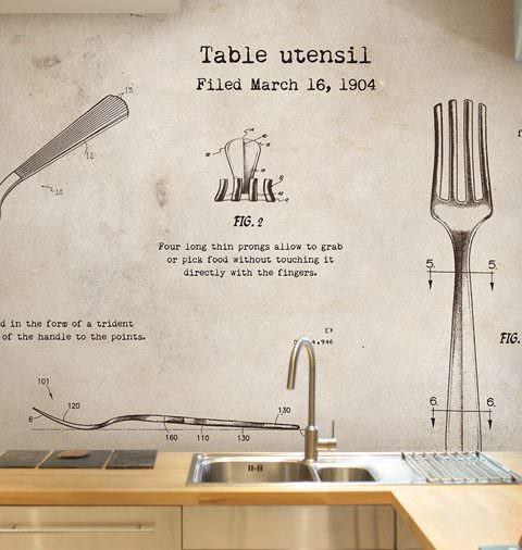 Carta Da Parati Per Cucina 7 idee per usare la carta da ...