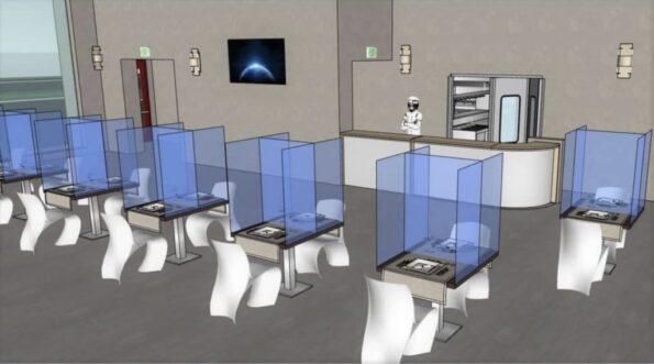 ristorante covid