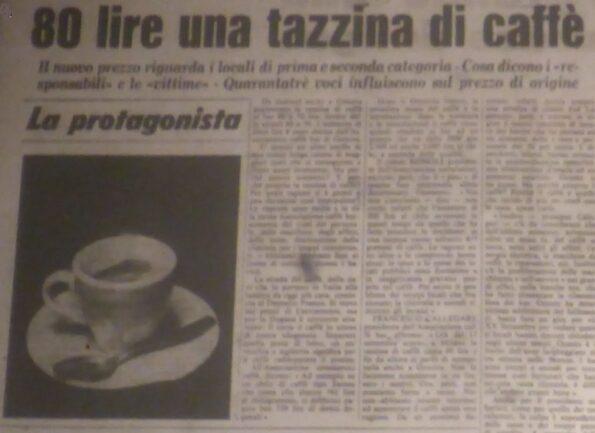 caffè e palanche