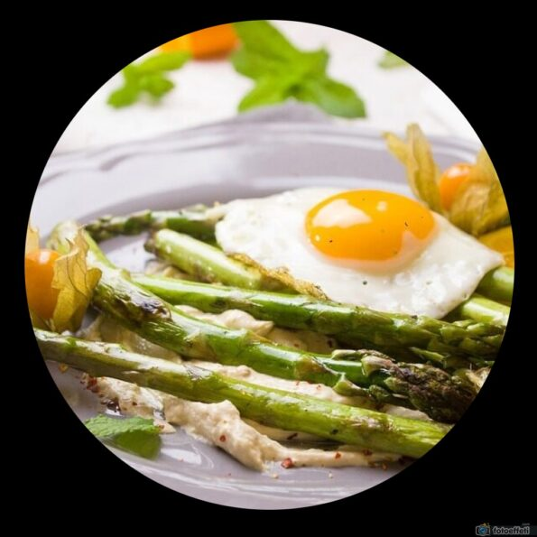 asparagi con le uova